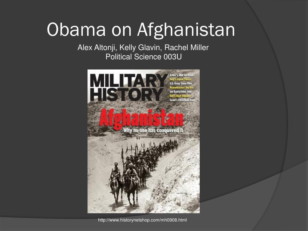 obama on afghanistan l.