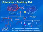 enterprise enabling ipv6