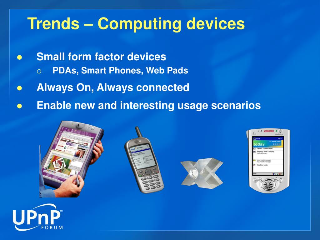 Trends – Computing devices