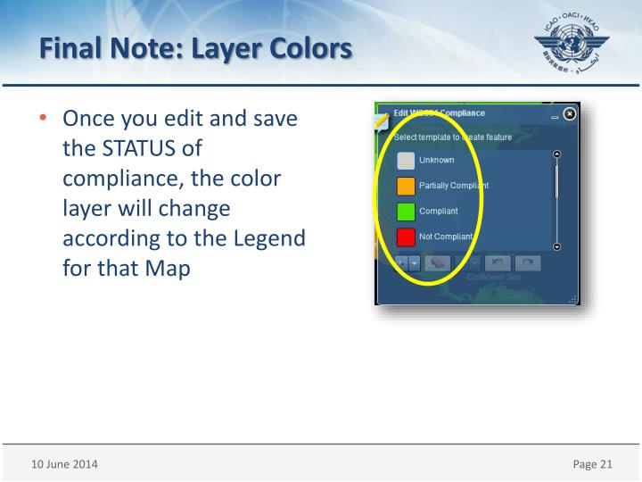 Final Note: Layer Colors