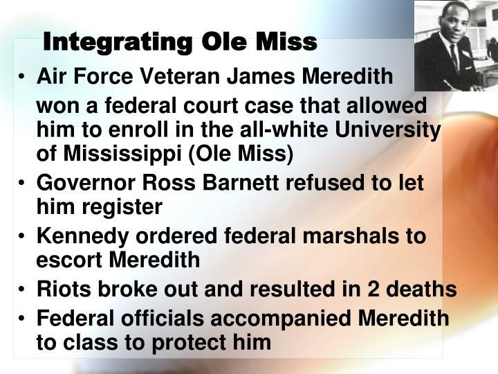 Integrating Ole Miss