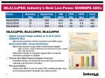 isla11xp50 industry s best low power 500msps adcs