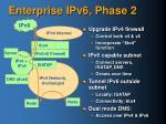 enterprise ipv6 phase 2