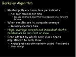 berkeley algorithm33