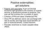 positive externalities gvt solutions46