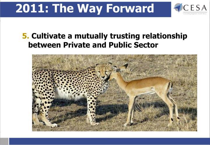 2011: The Way Forward