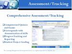 assessment tracking