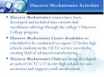 discover mechatronics activities