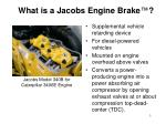 what is a jacobs engine brake