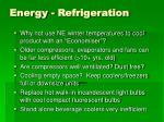 energy refrigeration