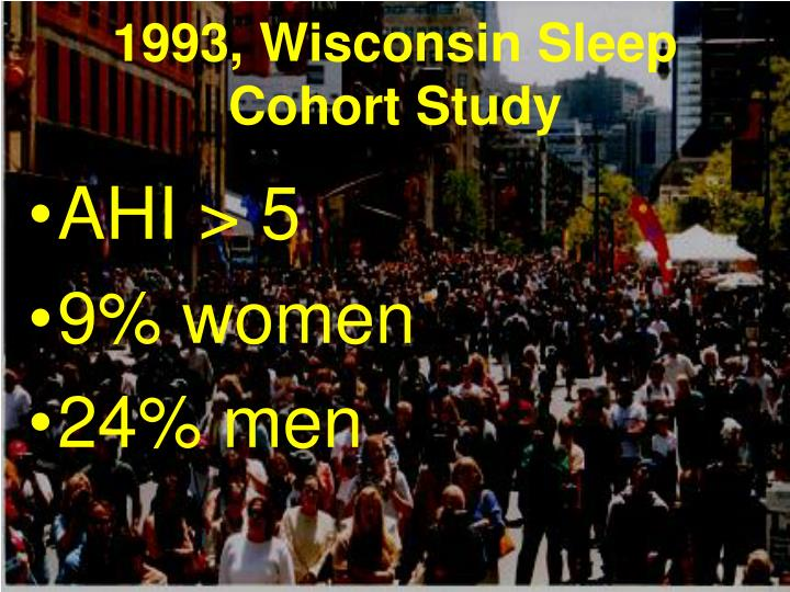 1993, Wisconsin Sleep