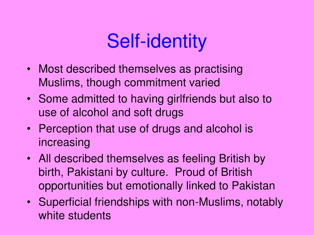 culture self and identity