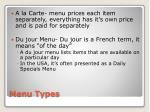 menu types1