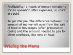 pricing the menu1