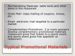 typical promotional materials2