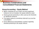 business combinations and consolidated financial statements5