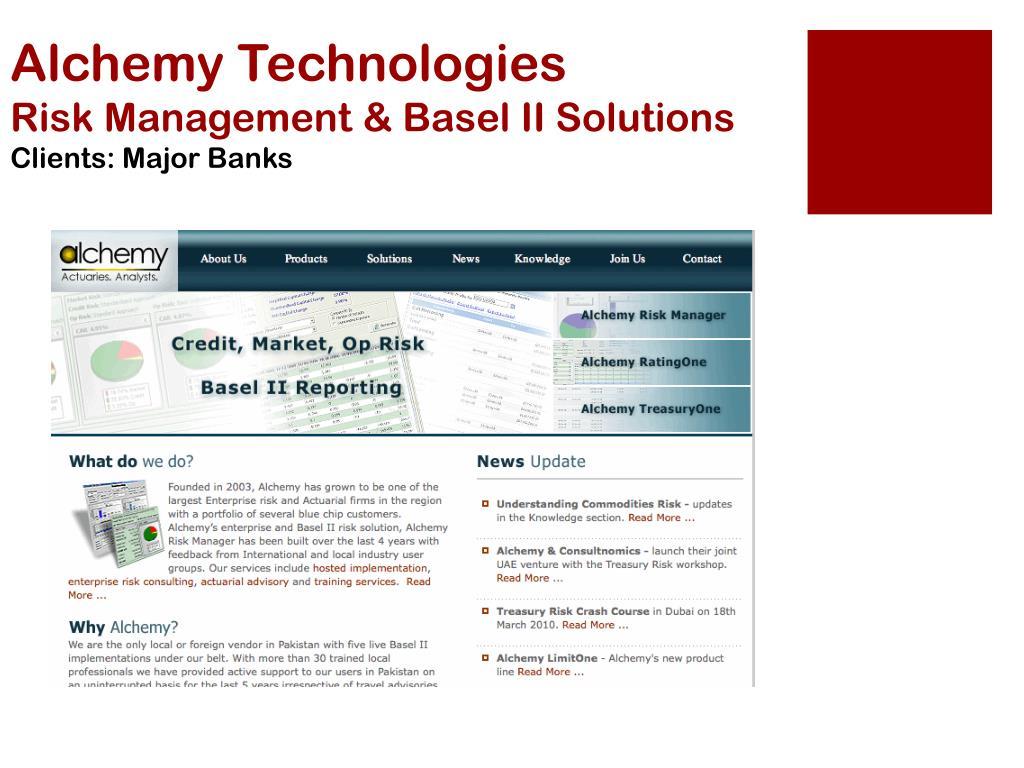 Alchemy Technologies