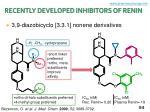 recently developed inhibitors of renin1