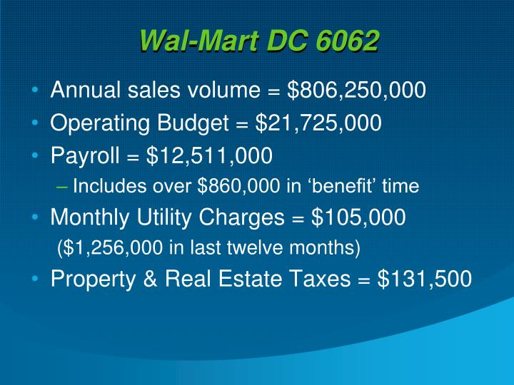 Ppt Wal Mart Stores Inc Powerpoint Presentation Id 1447497