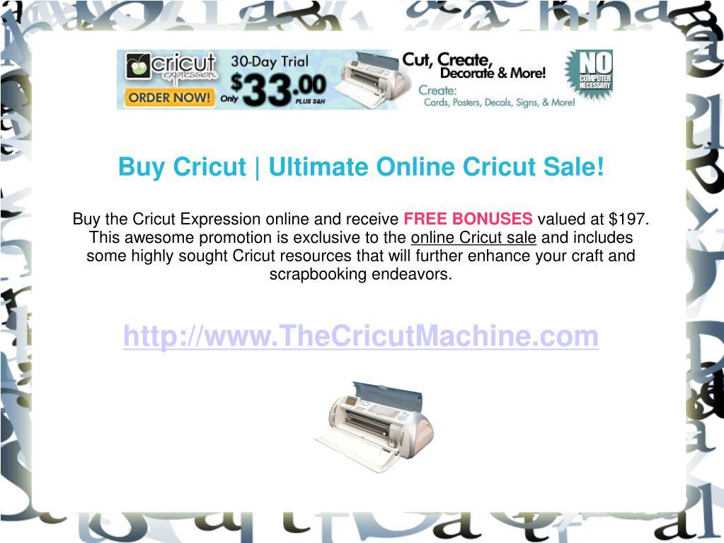 Buy Cricut | Ultimate Online Cricut Sale!
