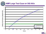 amr large test case on sgi altix
