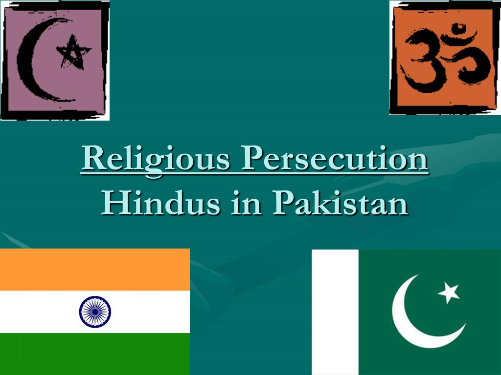 religious persecution hindus in pakistan l.