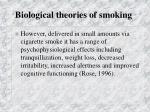 biological theories of smoking4