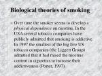 biological theories of smoking7