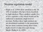 nicotine regulation model14
