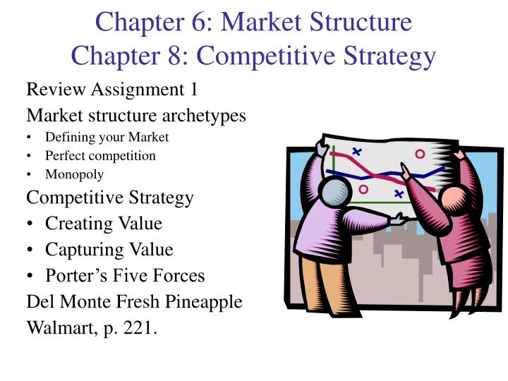 chapter 6 market structure chapter 8 competitive strategy n.