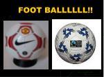foot ballllll