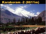 karakoram 2 8611m