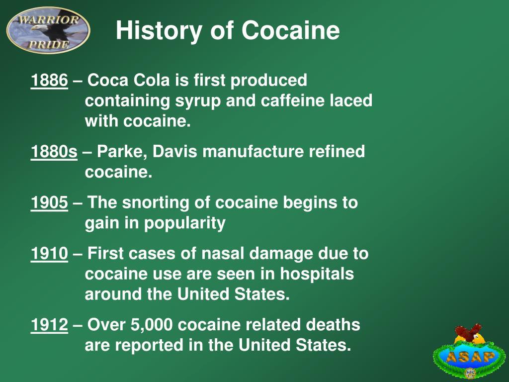History of Cocaine