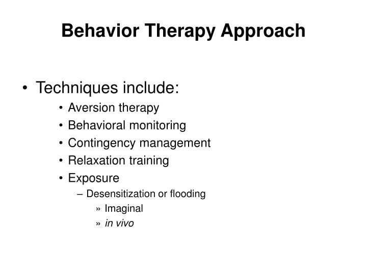 behavioral activation therapy Behavioral activation therapy is essentially a behavior treatment for depression that aims to target reactions or behaviors that might maintain or worsen the depression.