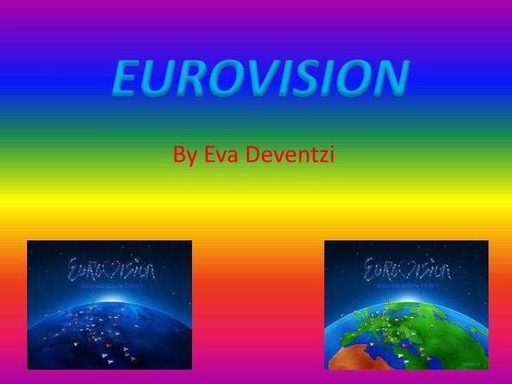 eurovision n.