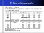 d some preliminary results4