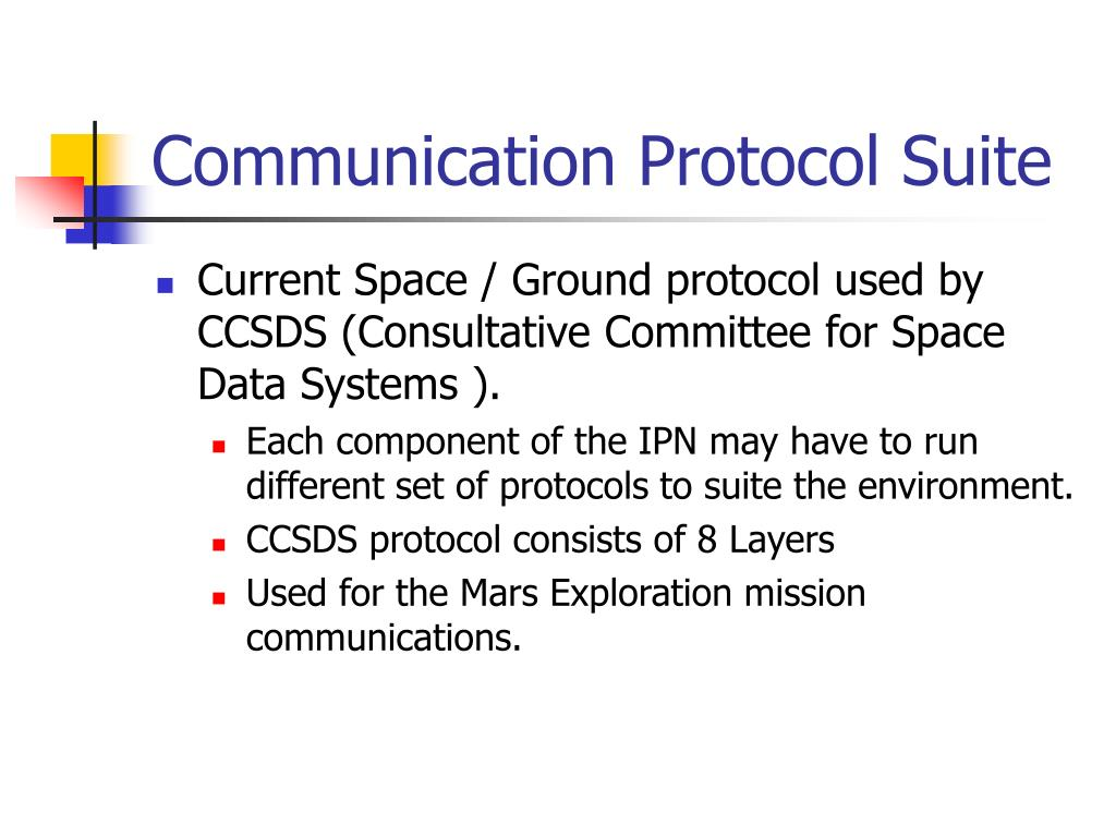 Communication Protocol Suite