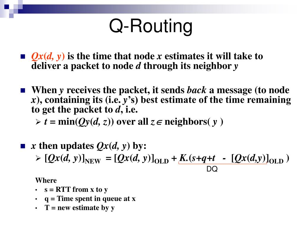 Q-Routing
