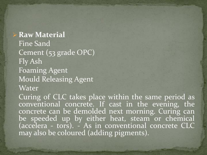 Ppt Cellular Lightweight Concrete Clc Powerpoint