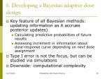 6 developing a bayesian adaptive dose design