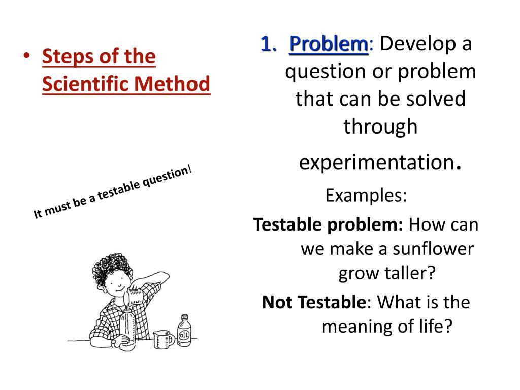 PPT - Scientific Method PowerPoint Presentation - ID:1448193
