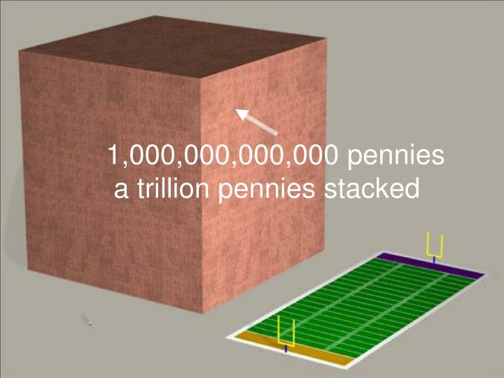 1,000,000,000,000 pennies