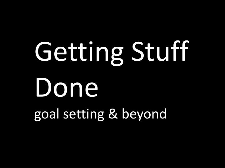 getting stuff Practical & actionable advice to help you get stuff done with onenote are you overwhelmed, stressed or feeling that there is never enough time in the day do you wish you could take more control of your.