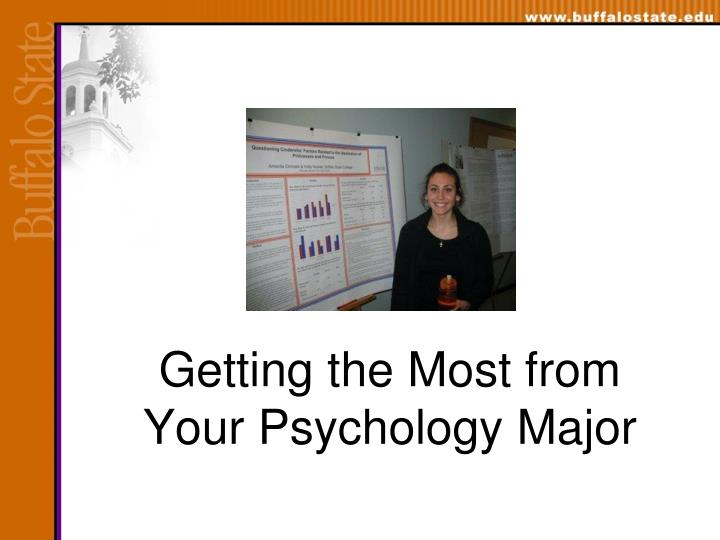 getting the most from your psychology major n.