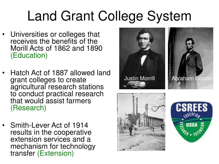 Land Grant College System
