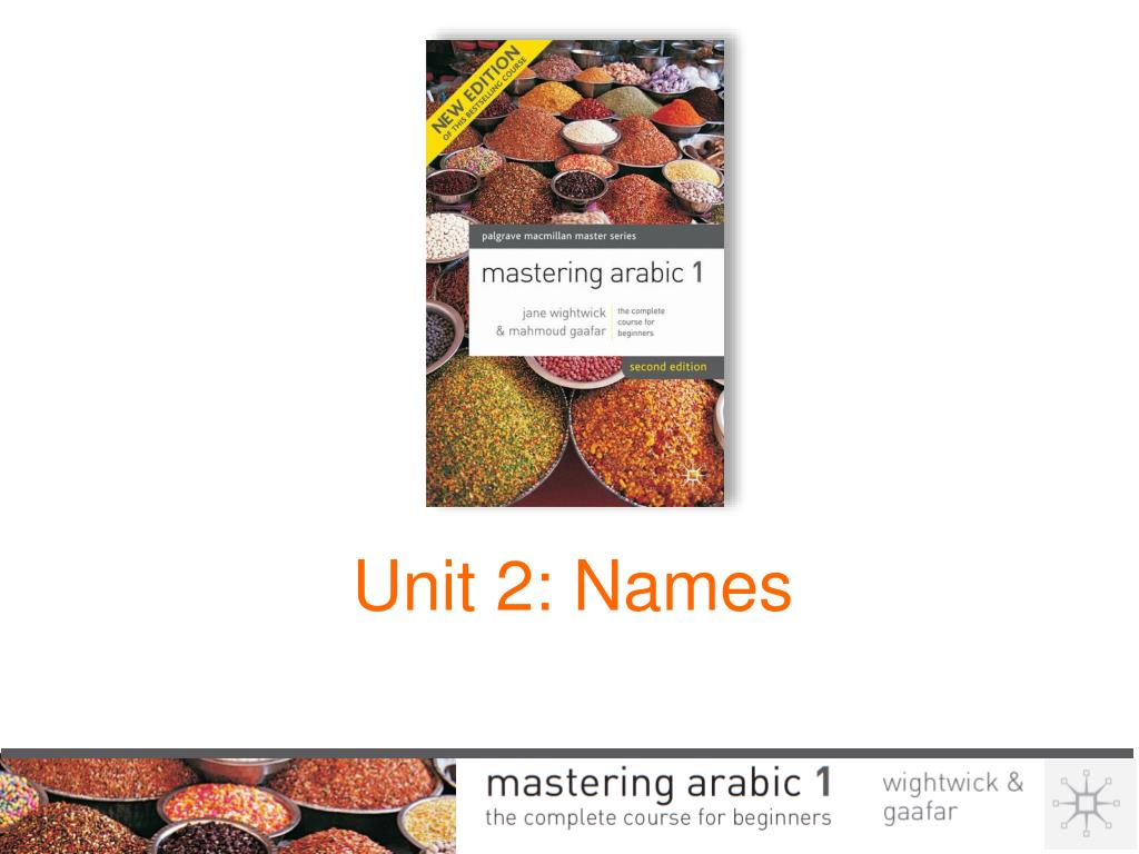 Ppt Unit 2 Names Powerpoint Presentation Free Download Id 1448697