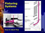fixturing systems