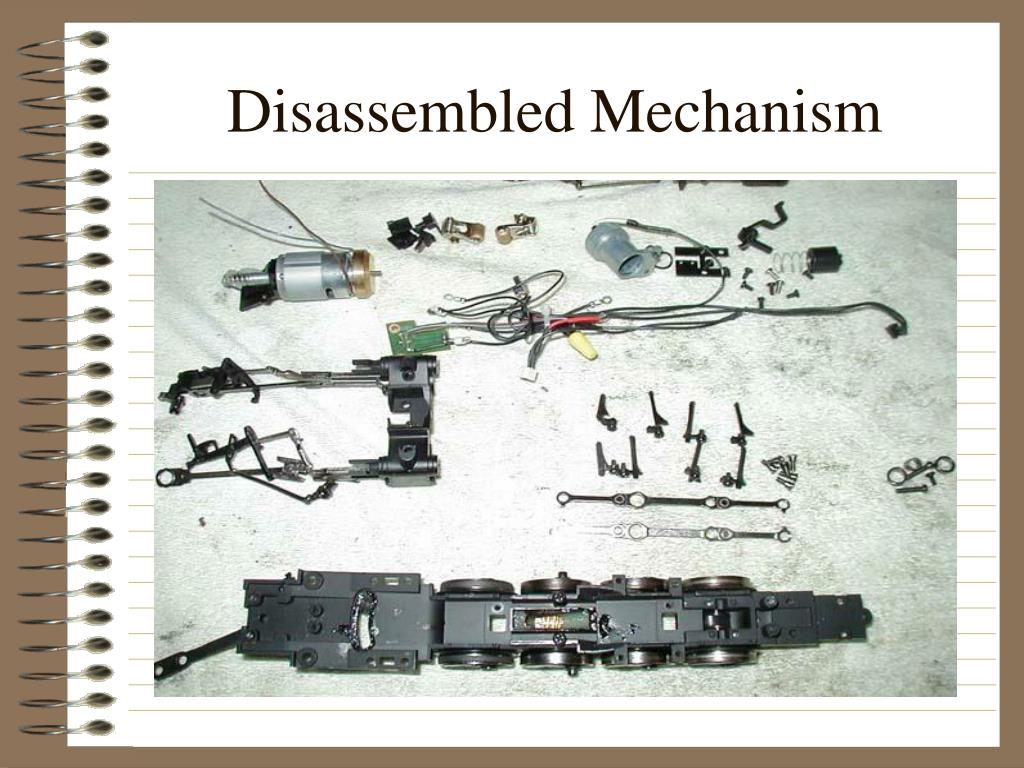 Disassembled Mechanism
