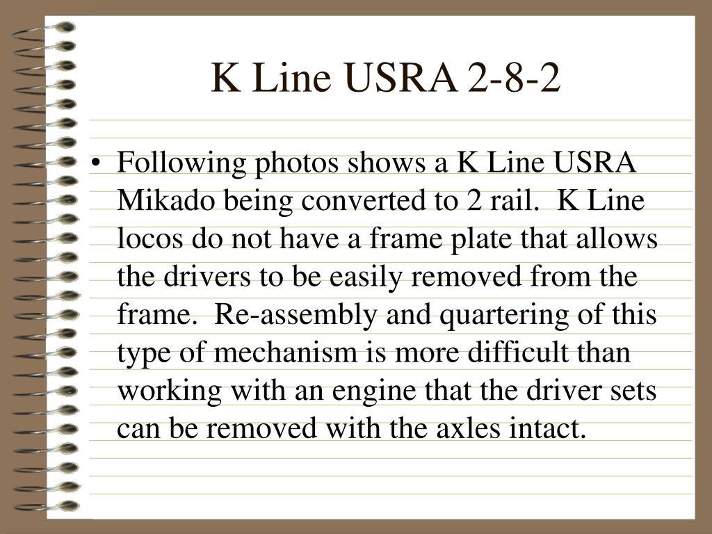 K Line USRA 2-8-2