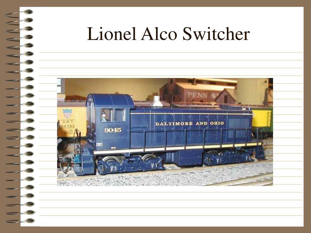 Lionel Alco Switcher